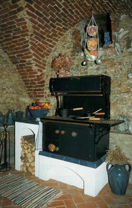 Traditional Woodburner